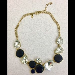 Incredible J CREW Rhinestone statement necklace!🌟